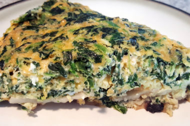 Spinach & Potato Frittata