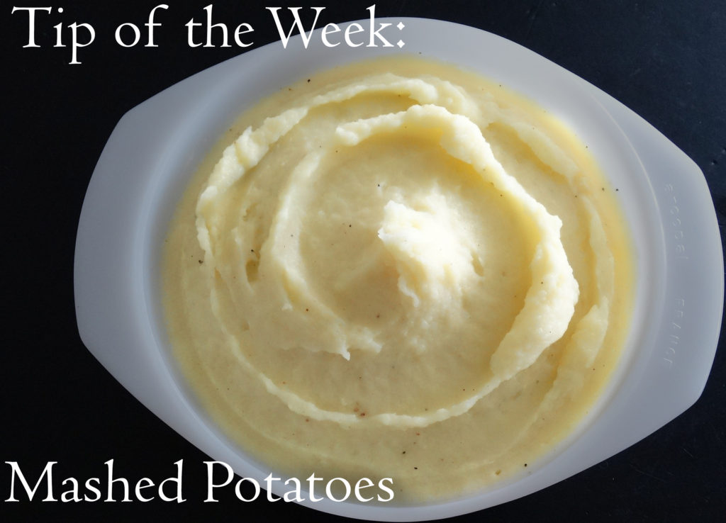 Tip of the Week: Mashed Potatoes